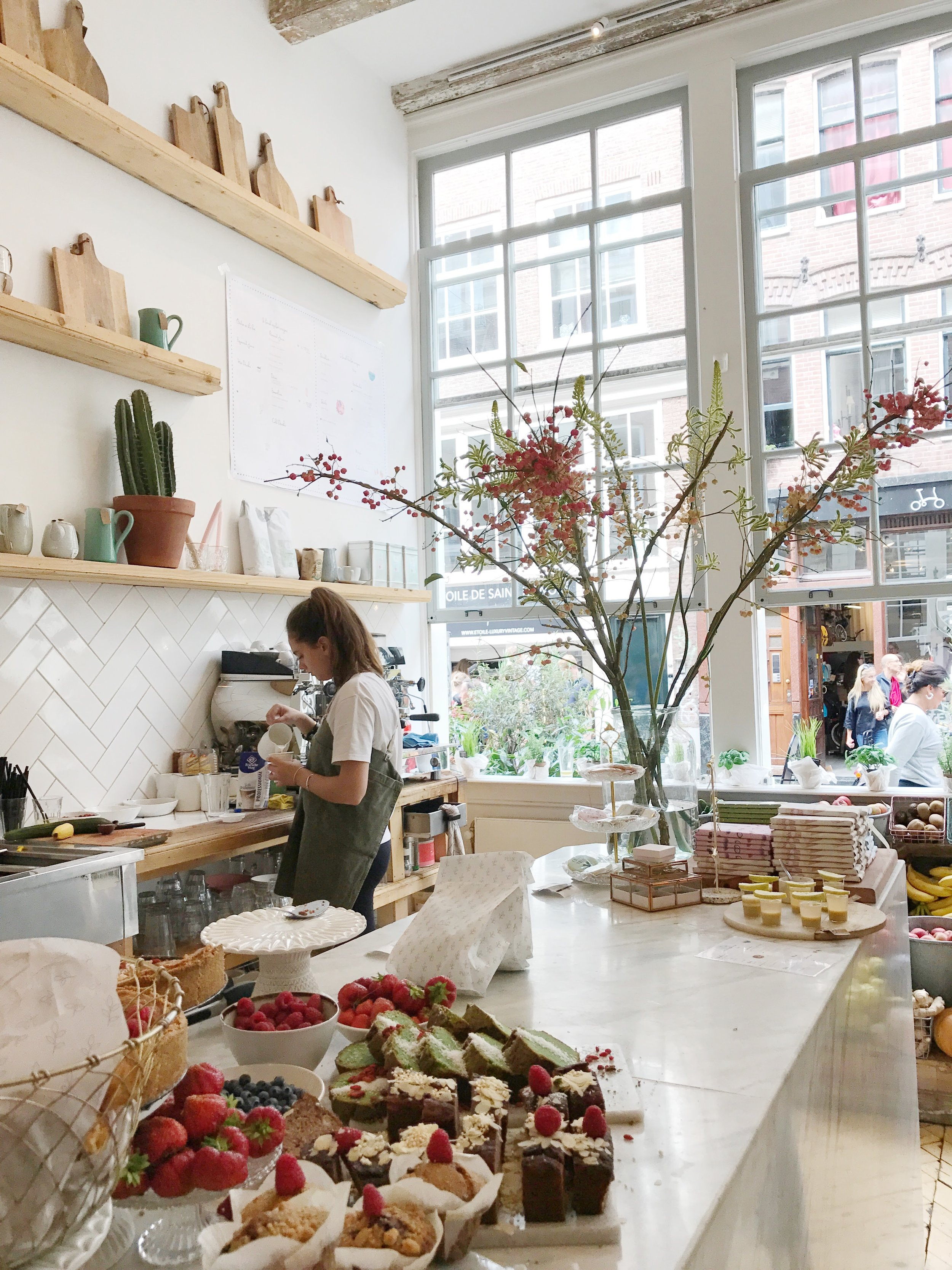 PLUK is the most gorgeous shop and cafe nestled in the 9 streets.