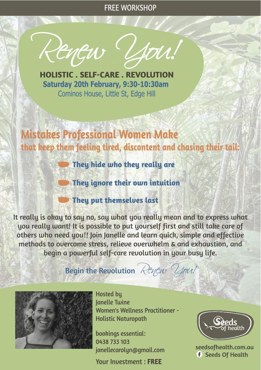 Self care FREE workshop