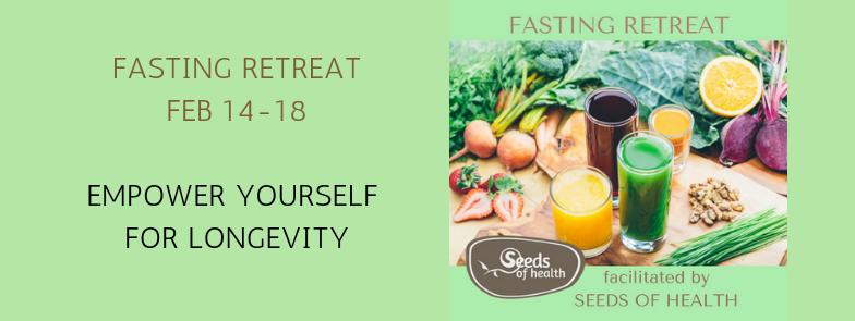 5 day Fasting Retreat - Mossman, Feb 2018