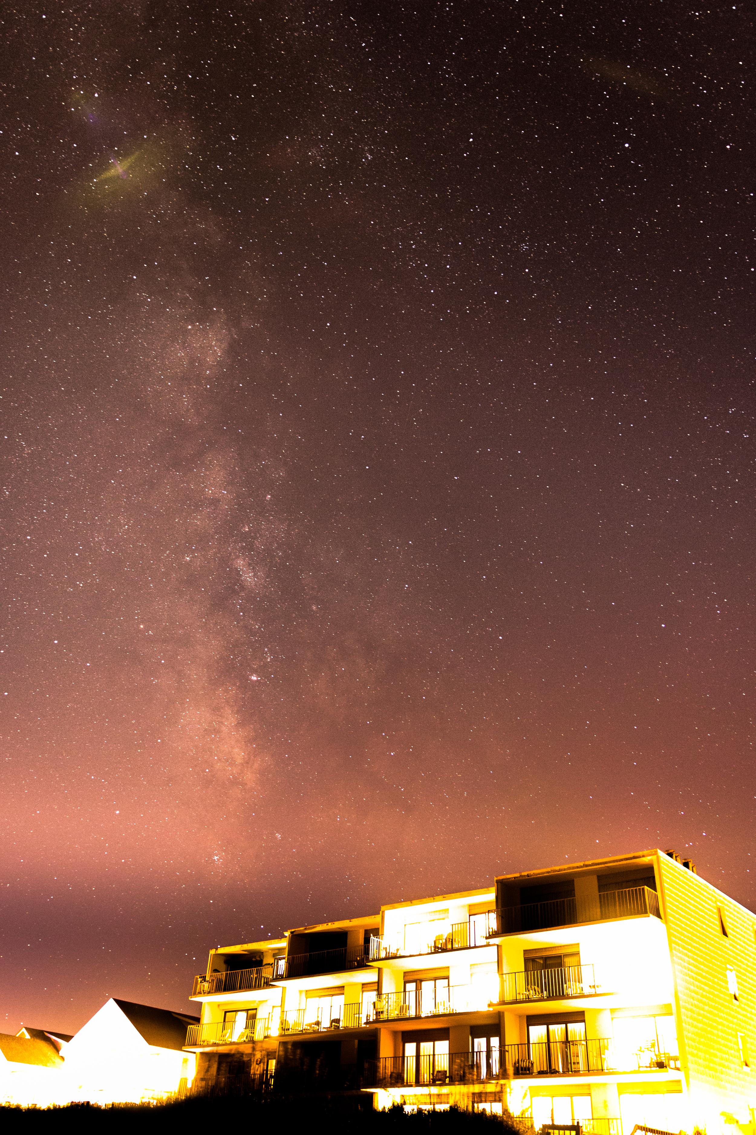 Dune Lantern Milky Way