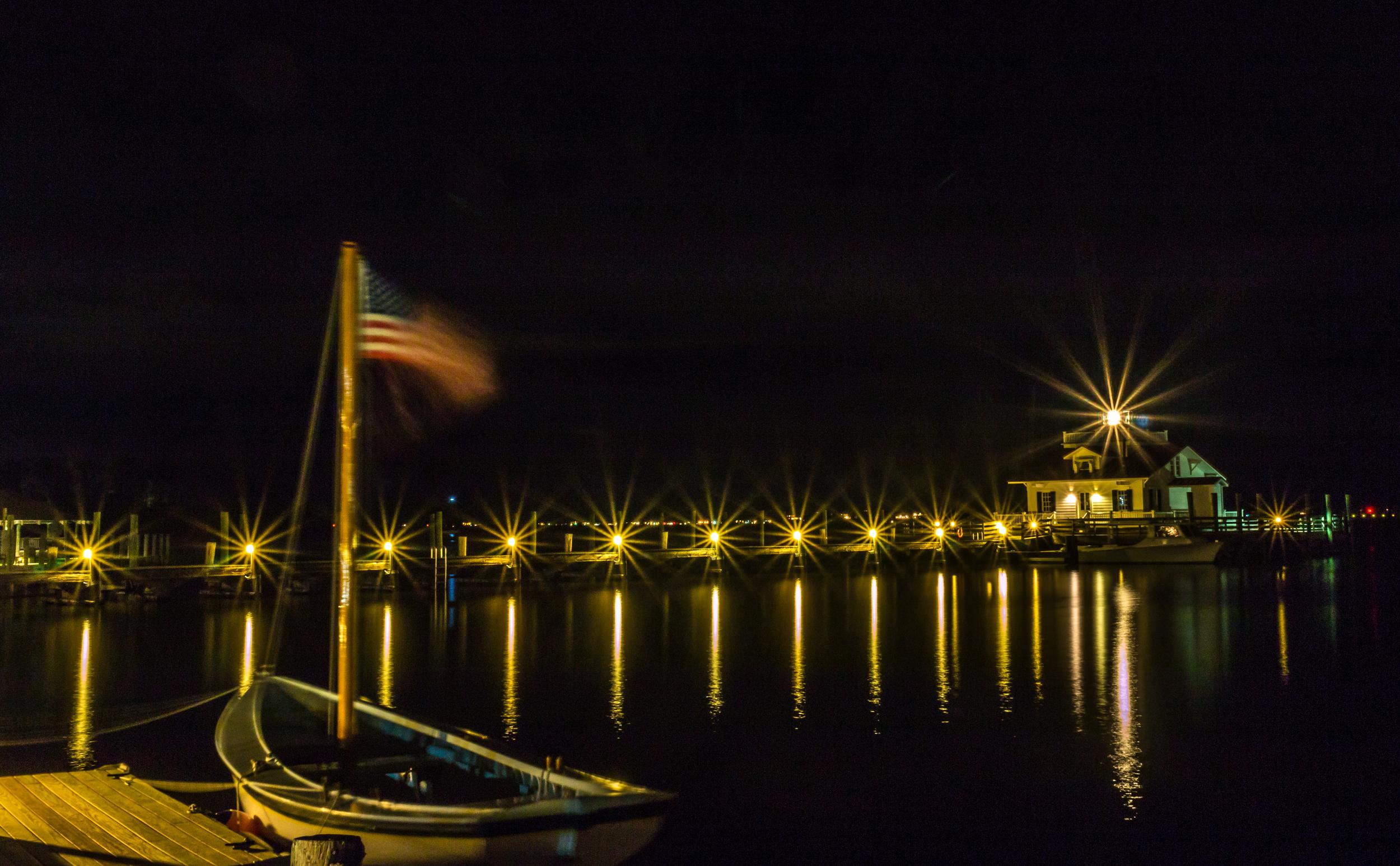 Roanoke Marsh Lighthouse Boat