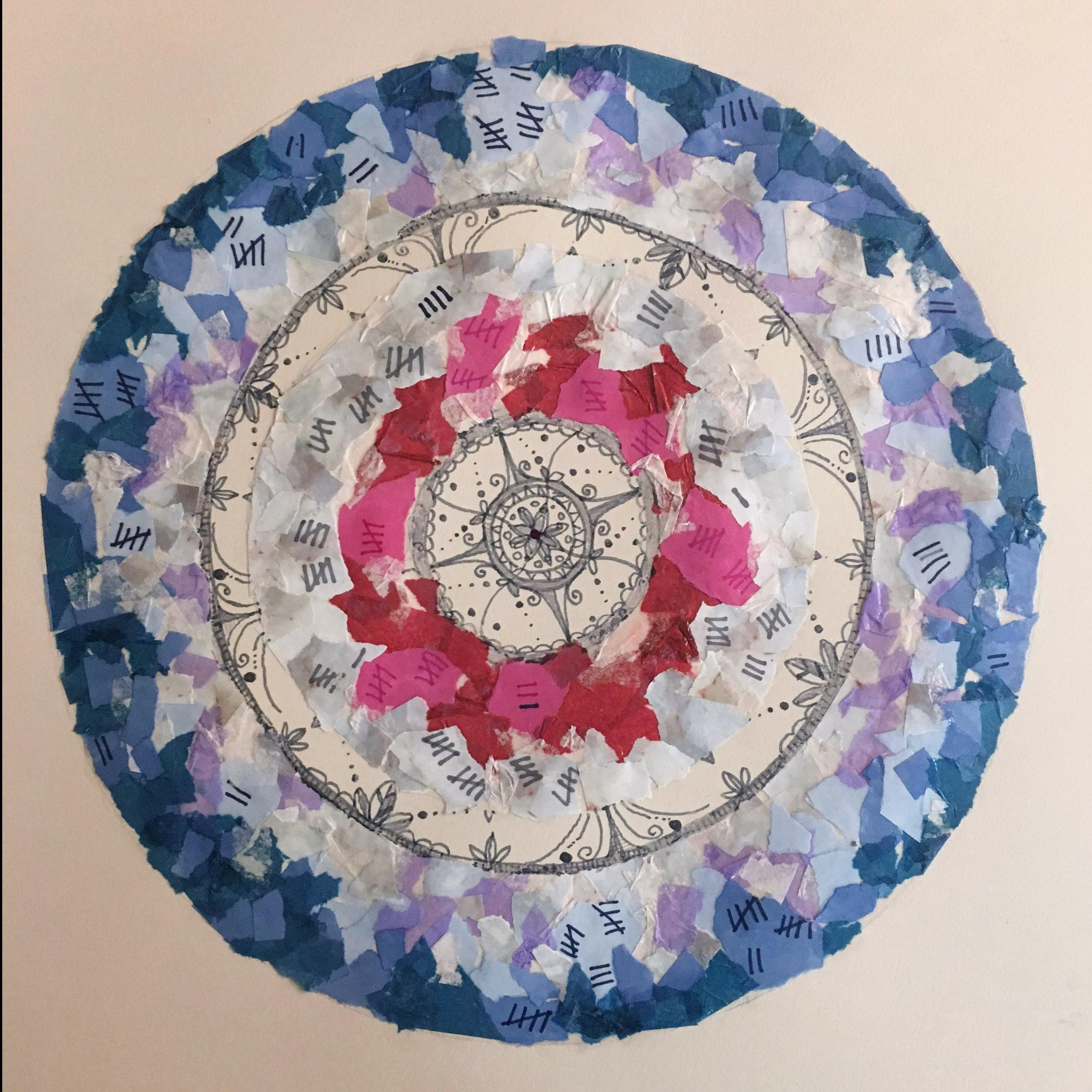 Thesis Mandala,  in progress