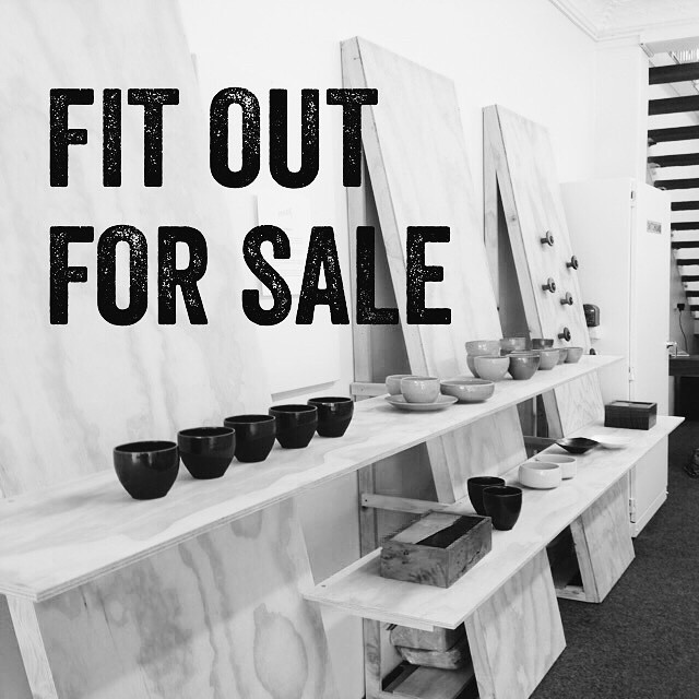 We are selling the shop fit out and still have 6 bays with shelving available. Get in touch if you are interested.