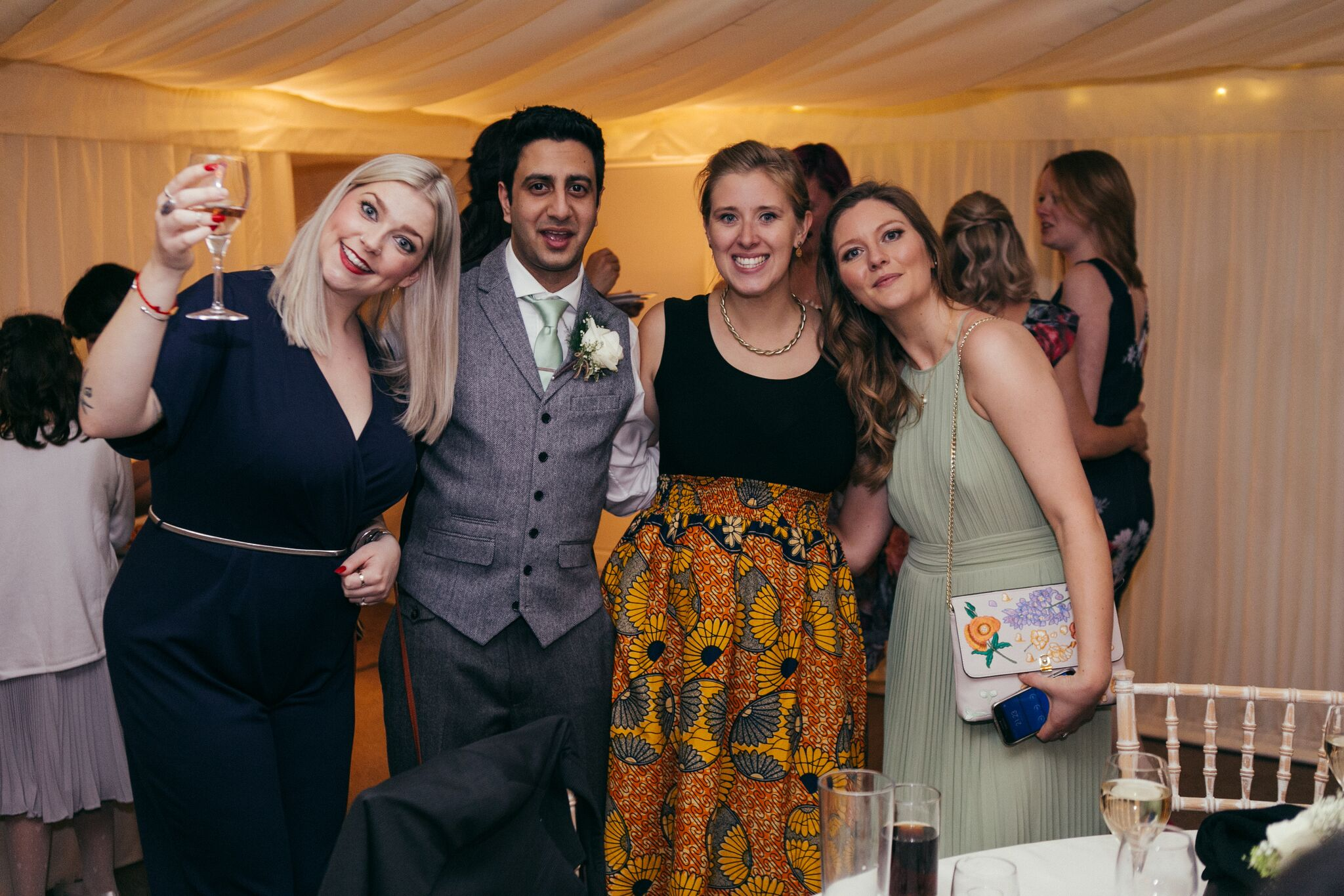 Jen and Tom's Wedding Guests