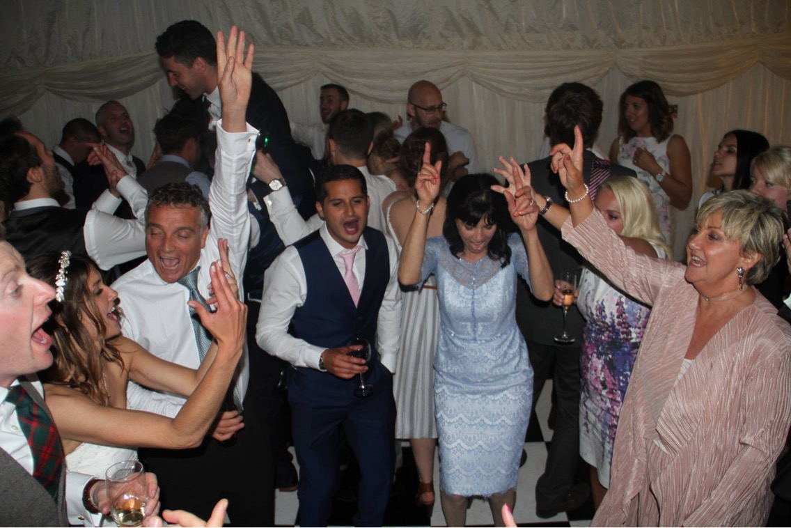 Hertfordshire wedding indie rock party band for hire