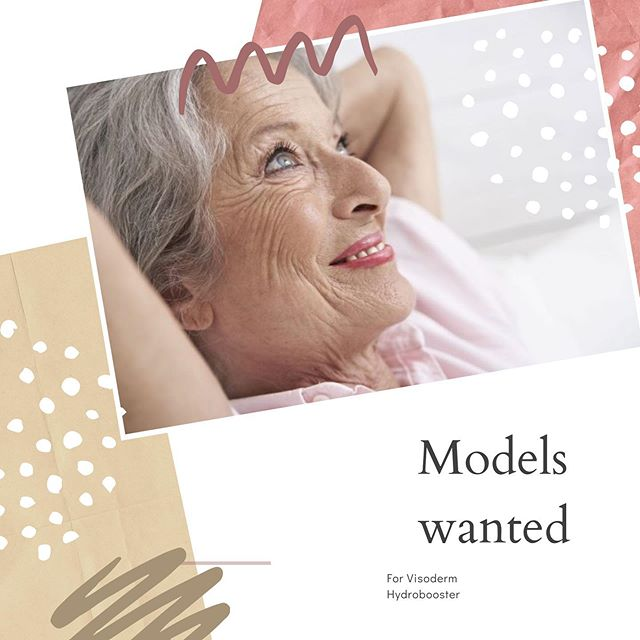 2 models needed for a #viscodermhydrobooster training day in Wilmslow on Tuesday 4 June. Please contact me ASAP with good quality photos from the front and side of the face. Treatment is usually worth £295 - free of charge! An appropriate model will be over 45 years with lines to the forehead, frown and around the eyes. Visoderm Hydrobooster can also be used in the fine lines around the mouth and the lower face. . This product is made from an ultra pure hyaluronic acid and is designed to stretch and fill the fine lines caused by muscle movement on the upper and lower face. It is a particularly effective treatment for people who cannot use (or do not want to use Botox in these areas).