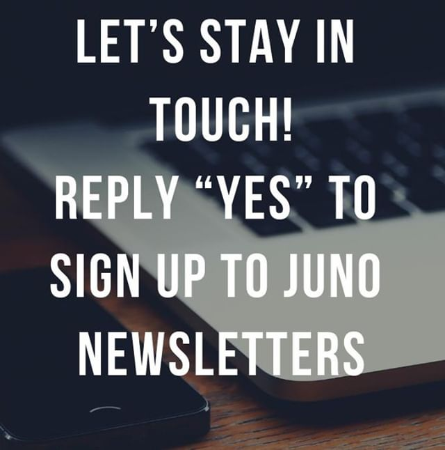 "Social media is fun but my resolution for this year was to set up Juno Newsletters every 3-4 months. I've had a positive reception in clinic and I'm ready to send out my first edition. I'm looking forward to sharing with you information about new products, treatments, new safety information and any upcoming offers or model dates.  Before I do so, if there are any interested people who have not yet visited me (or if I have not seen you since 2017) for GDPR reasons, I need to to opt into the newsletter. . You can either DM me a ""yes"" with your email address or you can complete the form here http://junoaesthetics.com/sign-up . #junoaesthetics #junoclinic #offersandpromotions #stayupdated #aestheticnewsletter #patienteducation #beaheadoftherest"
