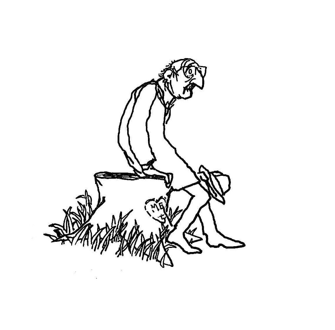 Illustration from  The Giving Tree