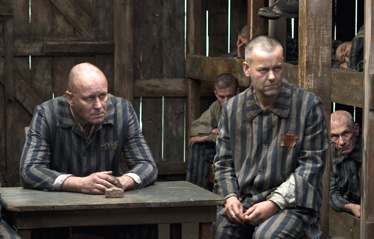 Scene from 'God on Trial' 2008.