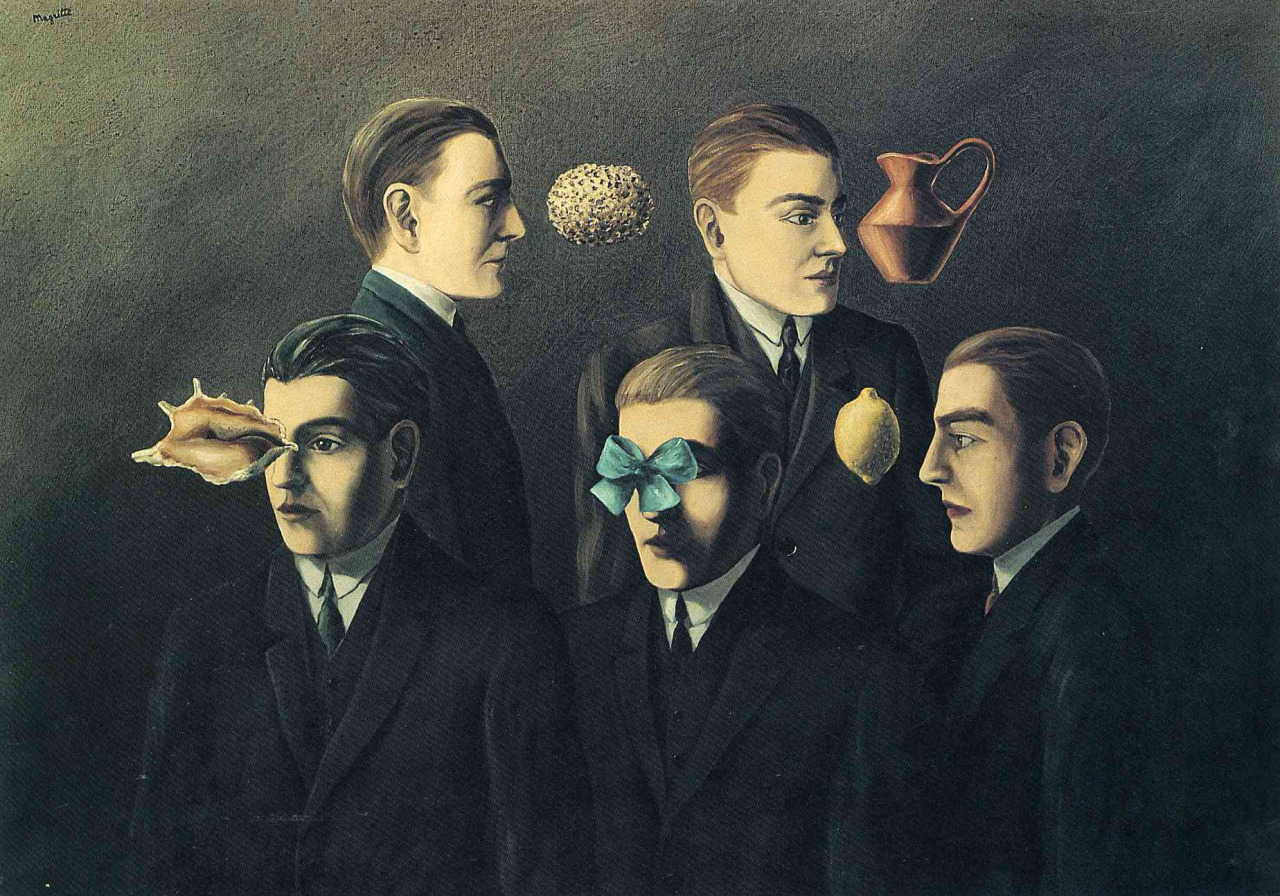 The familiar objects, Rene Magritte