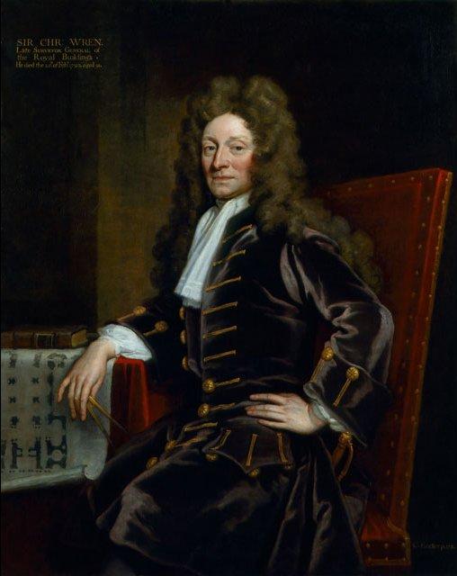 Sir Christopher Wren (1632 - 1723)