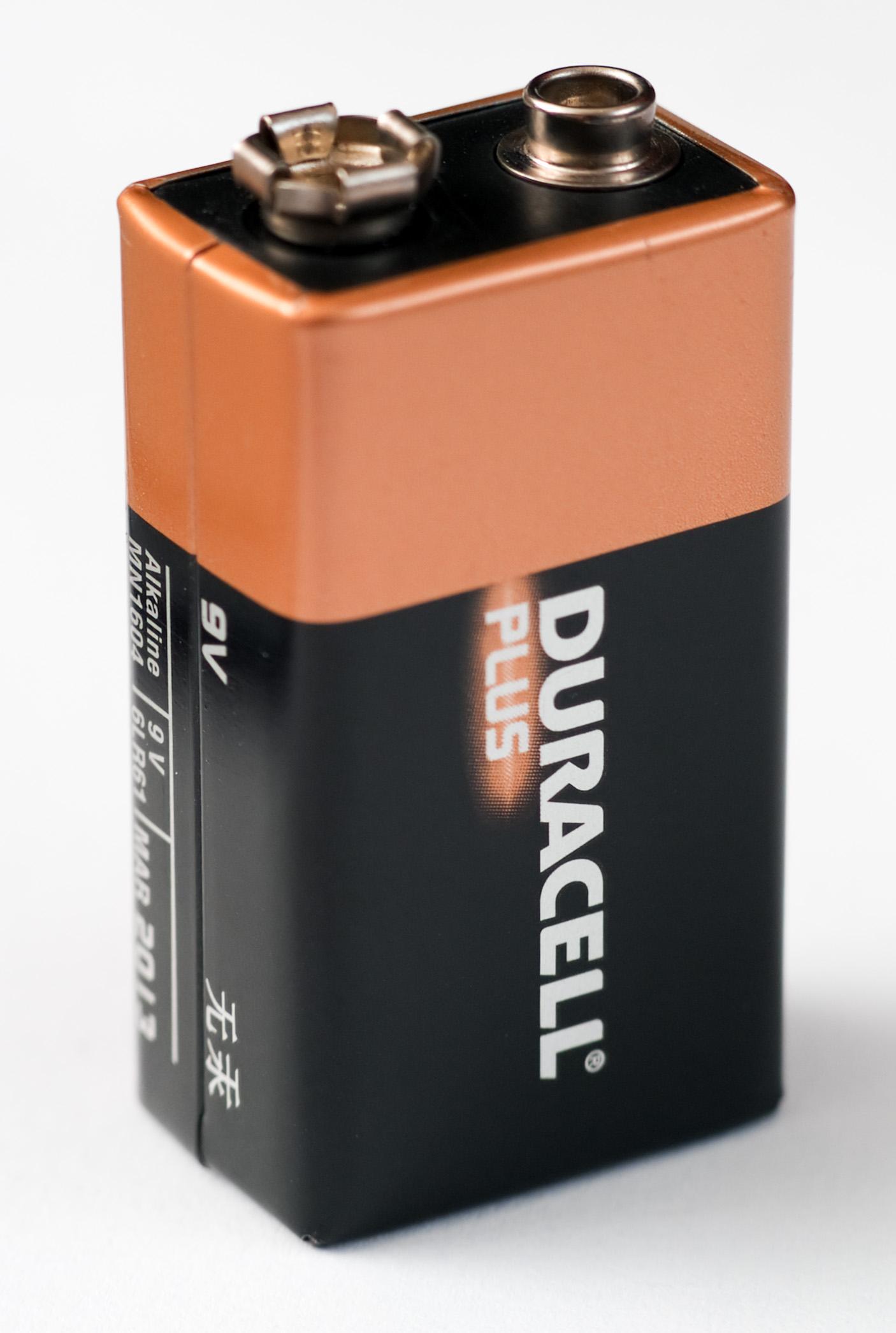 A Duracell Battery