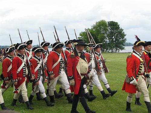 18th Century British Soldiers.