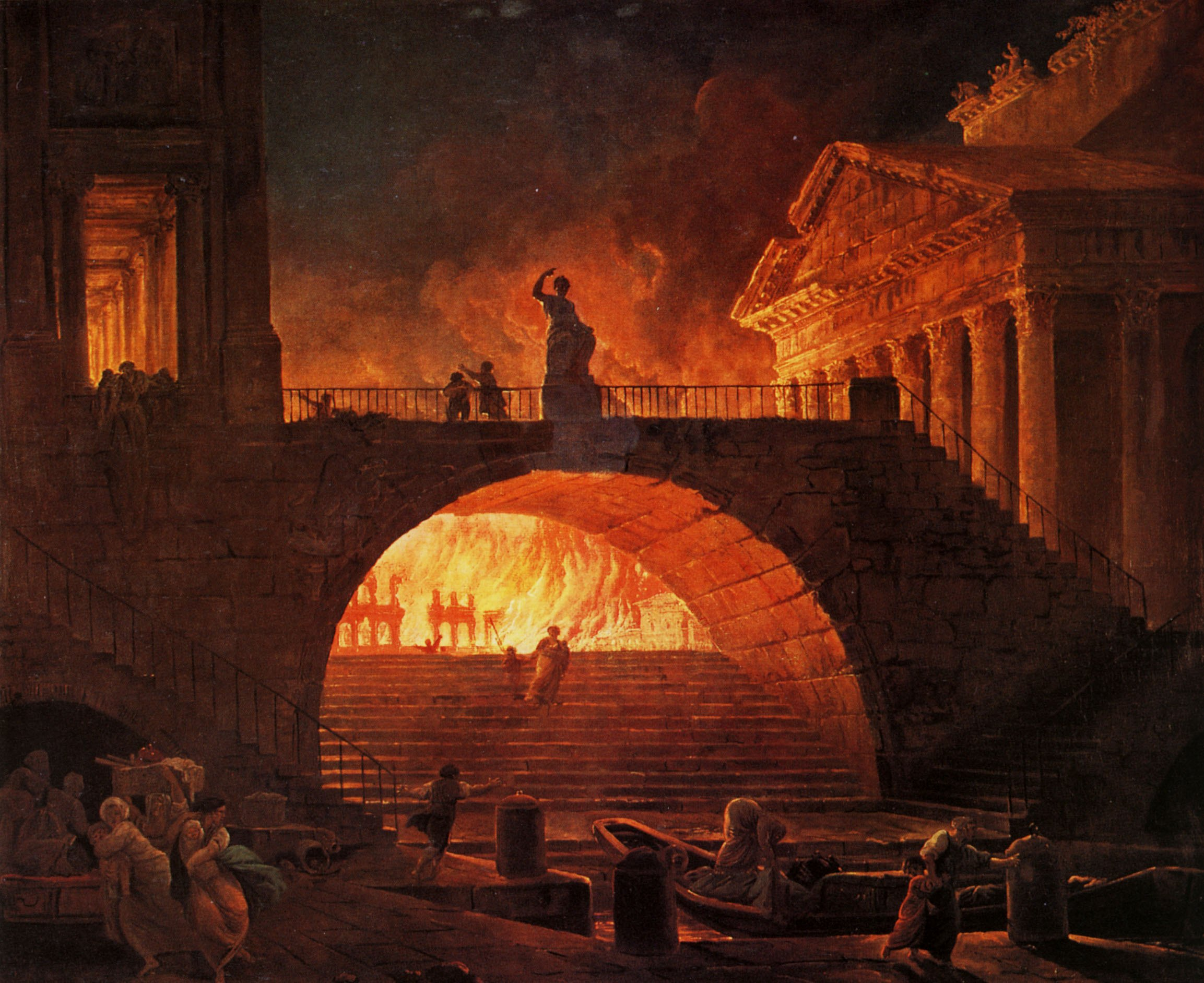 Fire of Rome.