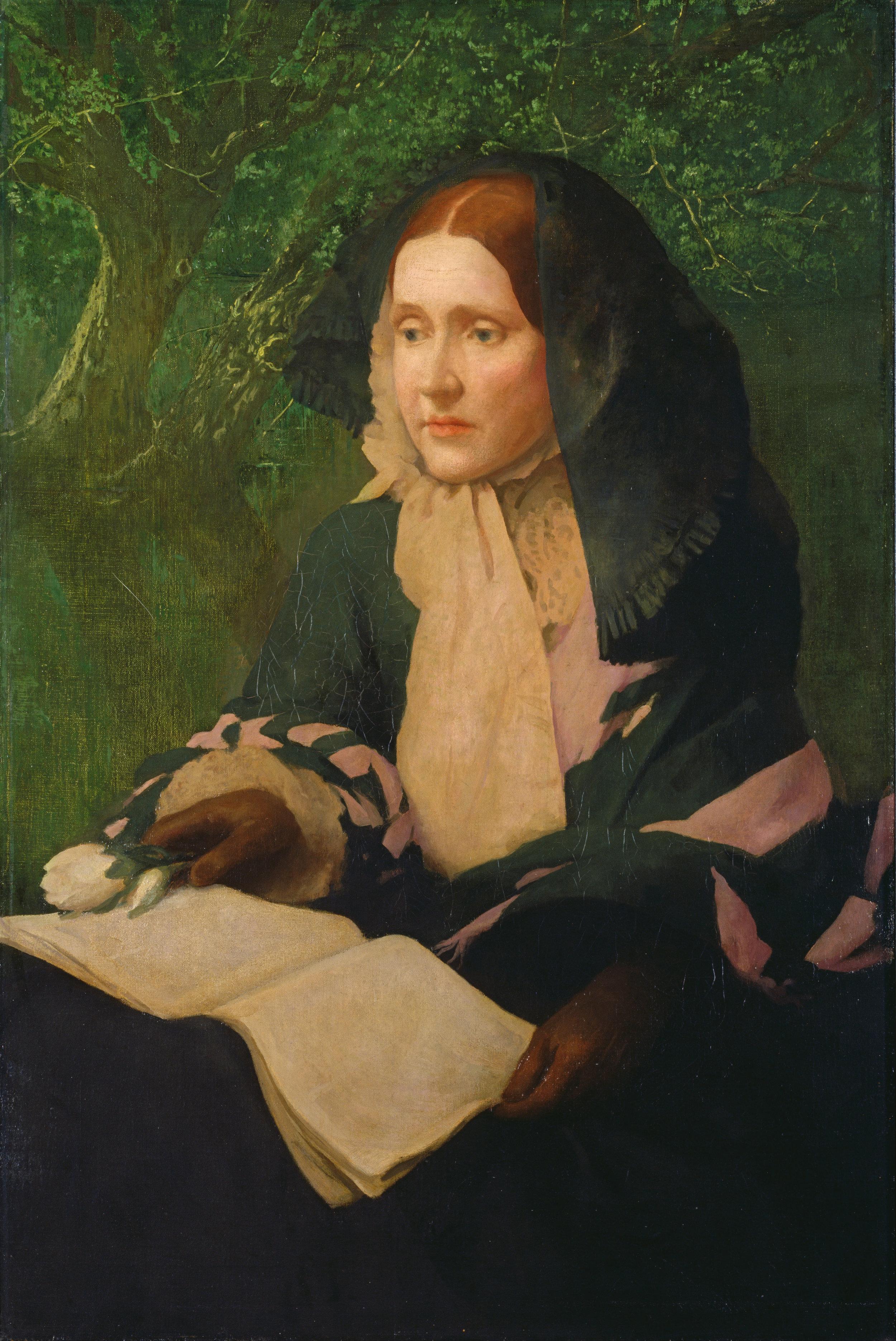 Painting of Julia Ward Howe, by John Elliott, 1925.