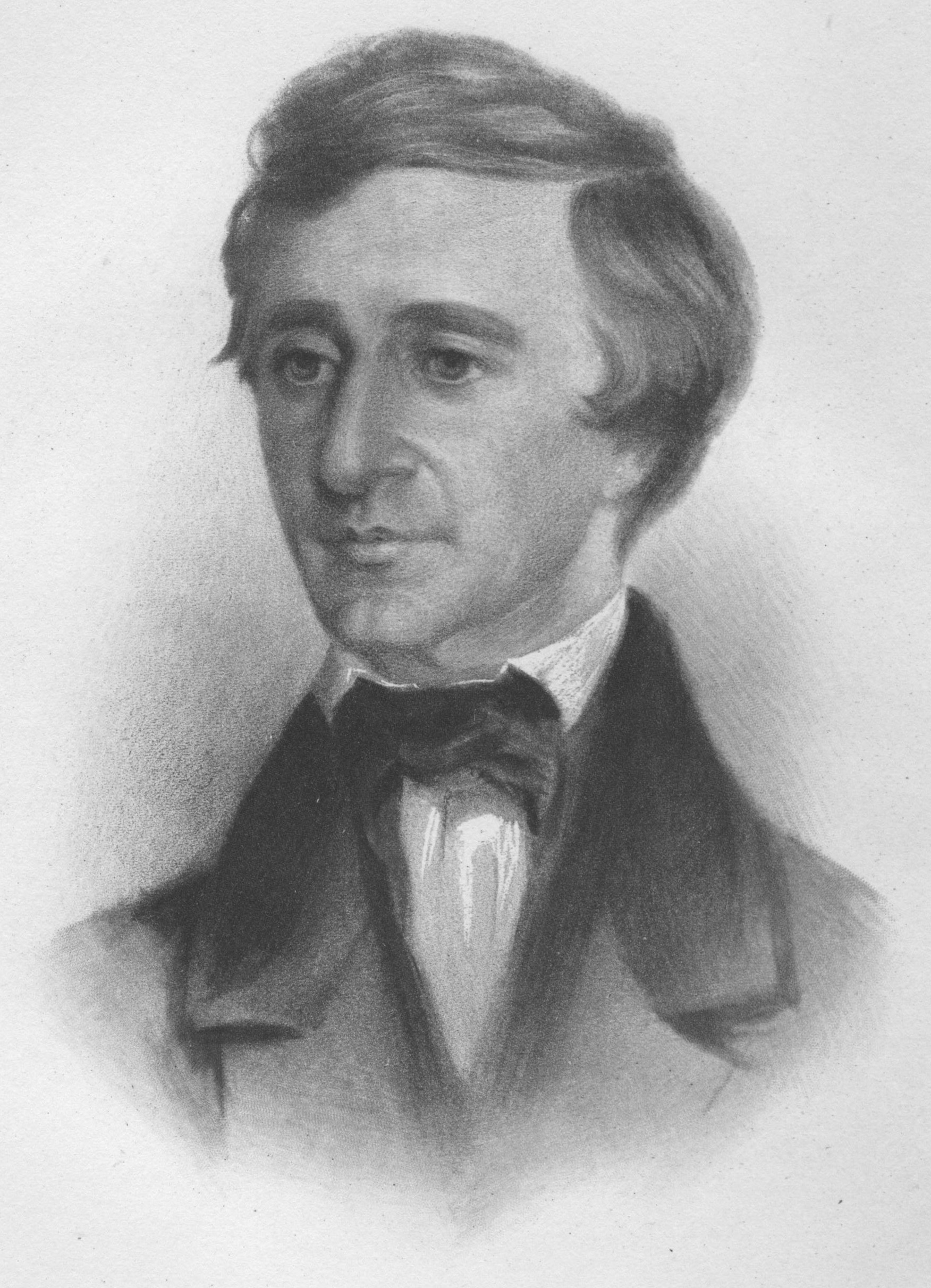 The young Henry David Thoreau