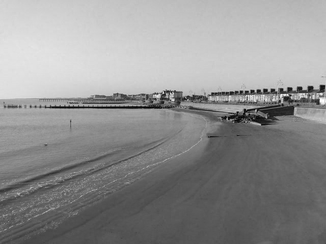 Beach at Lowestoft