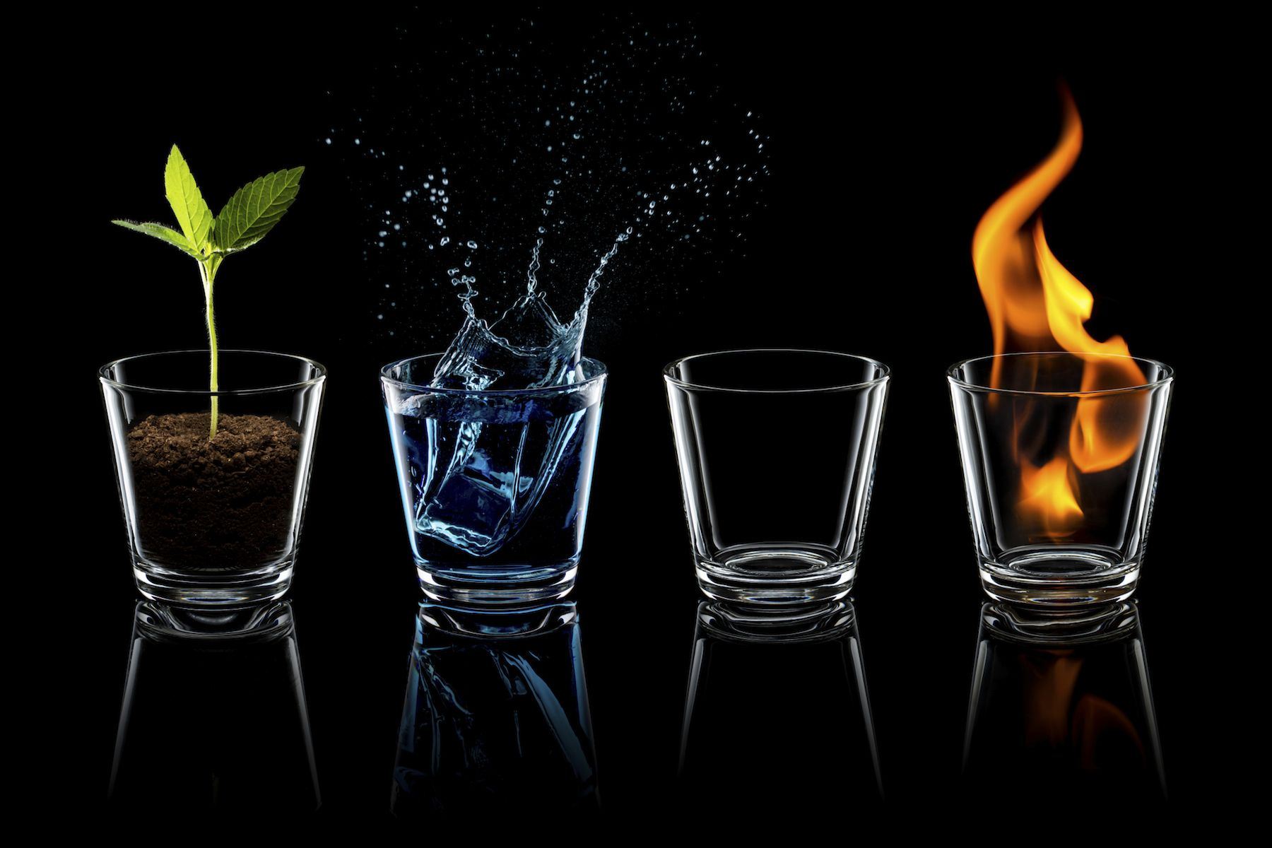 The Four Elements.