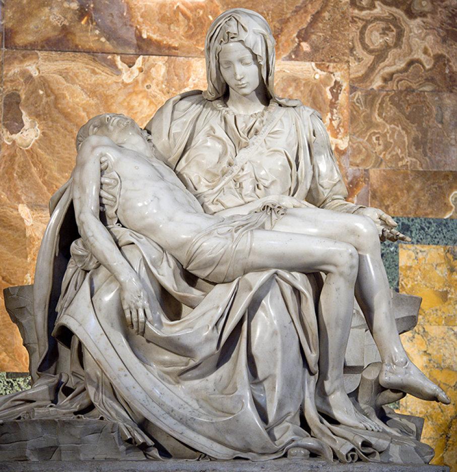 The Pieta by Michelangelo.