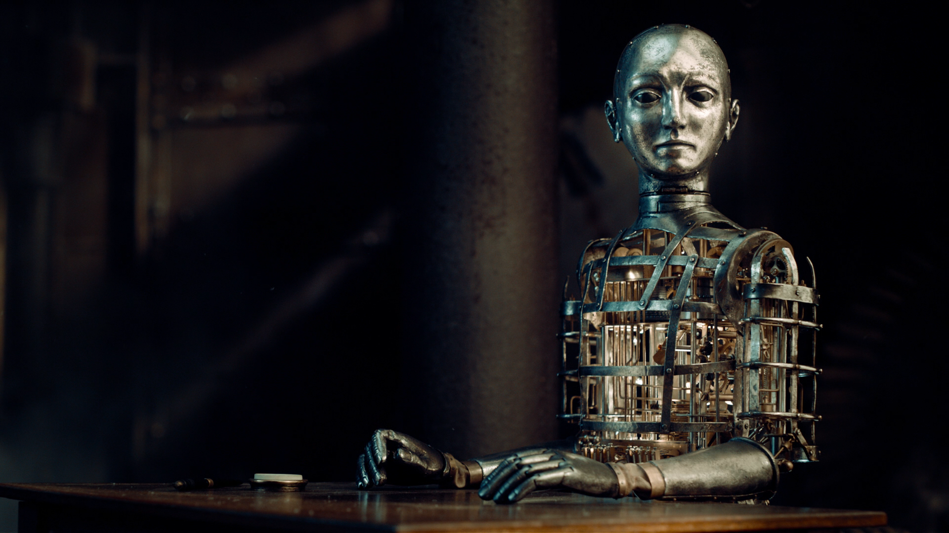 An 'Automaton'.
