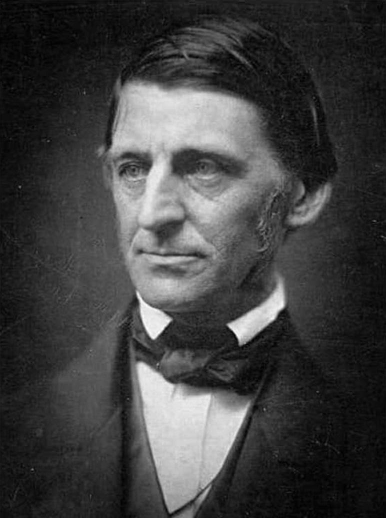 Ralph Waldo Emerson (1803 - 1882)