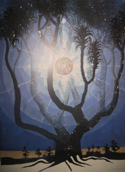 'The Tree of knowledge' in the Red Book by Carl Jung