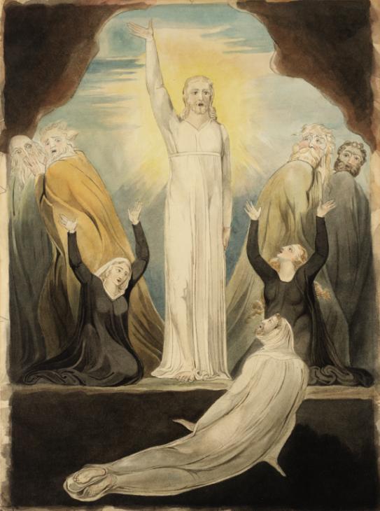 William Blake's 'The Raising of Lazarus'