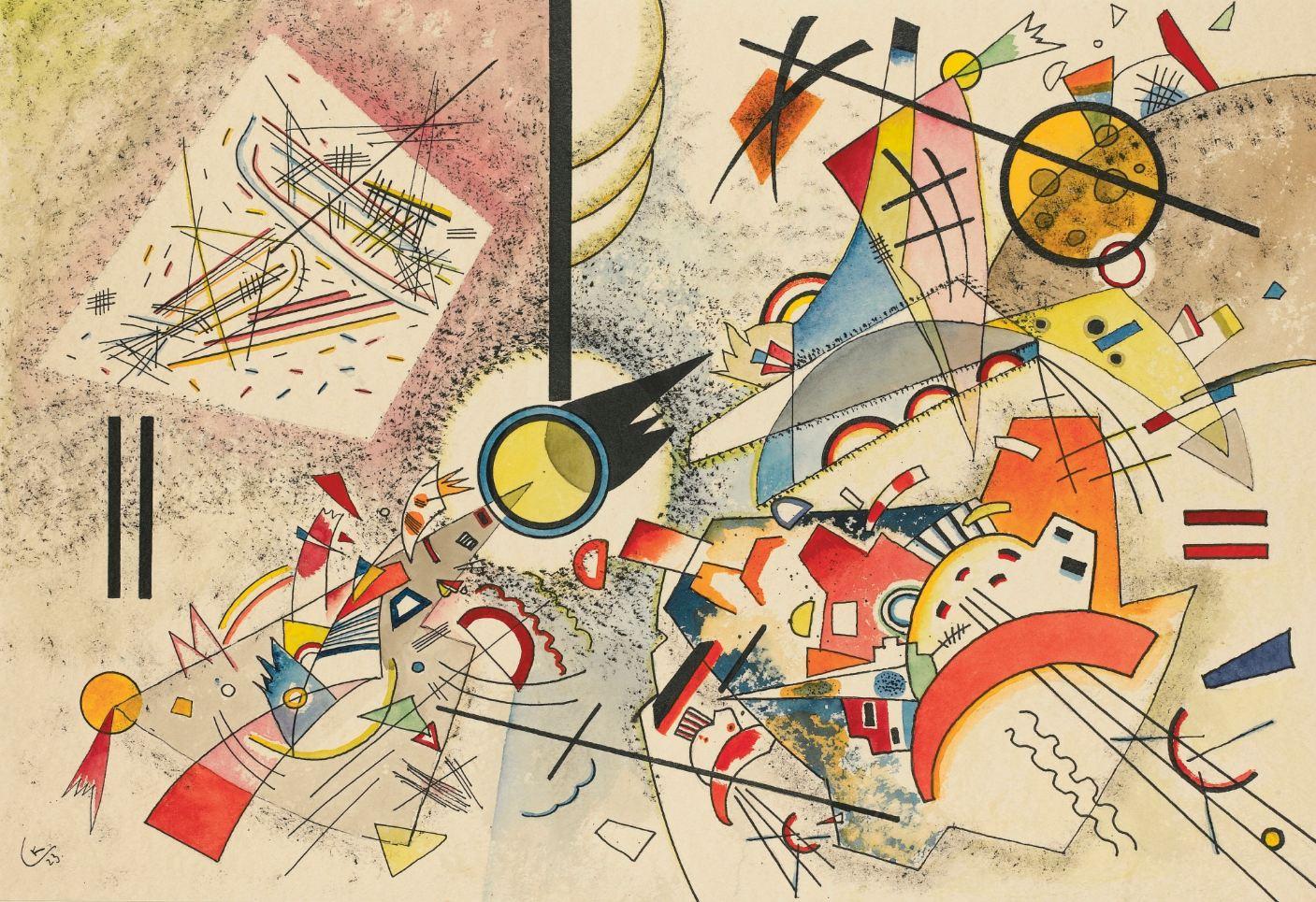 Untitled (1923) by Wassily Kandinsky