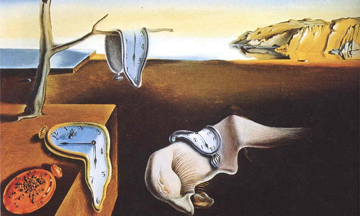 'The Persistence of Memory' (1931) by Salvador Dalí