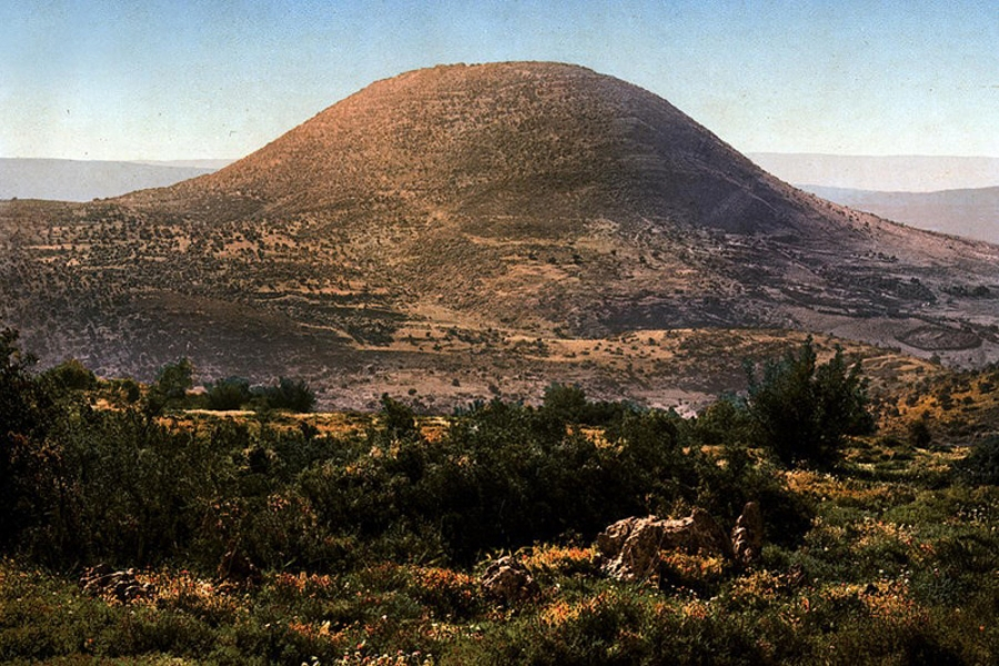 Mount Tabor in Israel.
