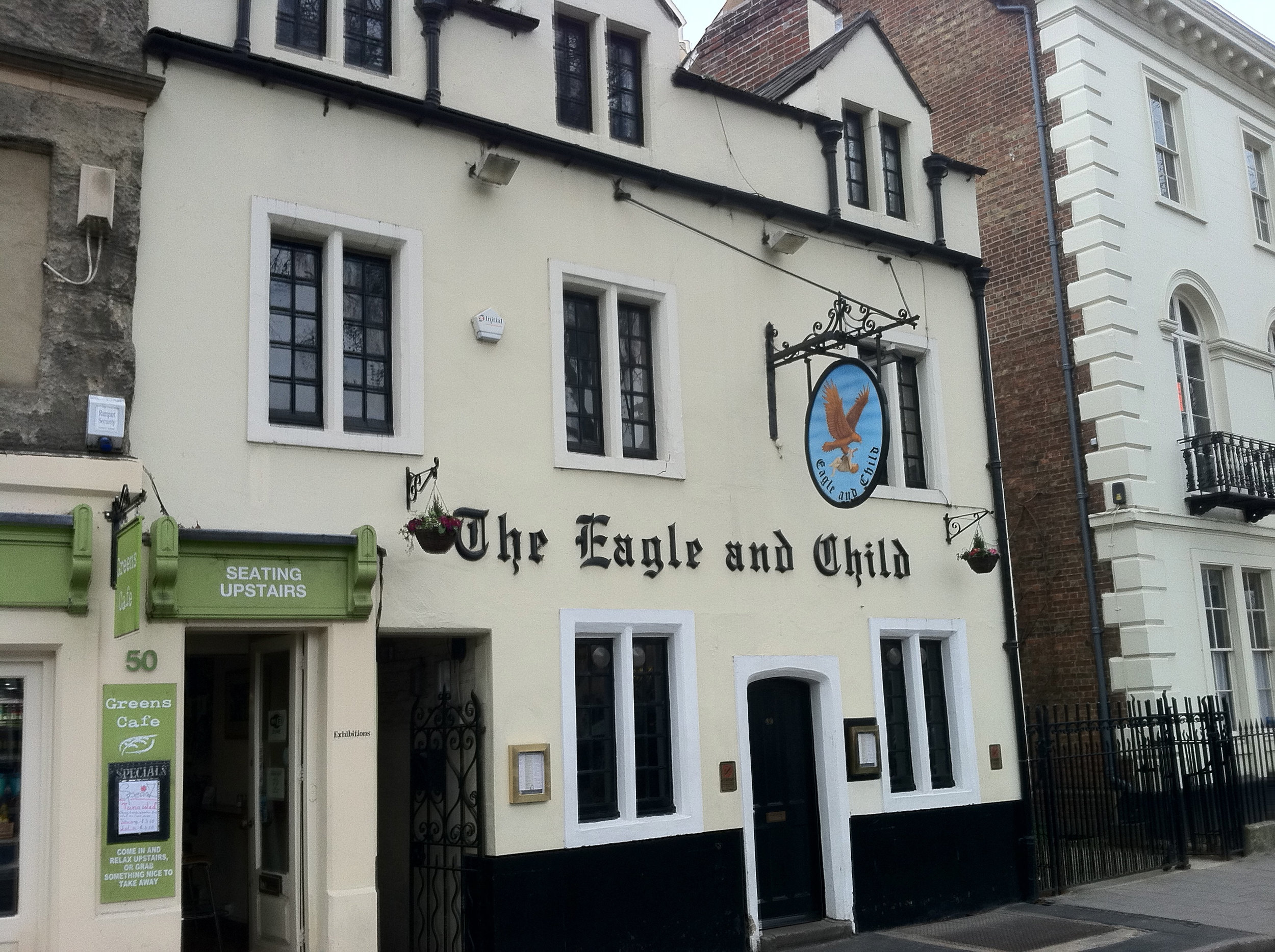 The Eagle and Child, Oxford.
