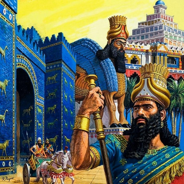 Representation of King Nebuchadnezzar