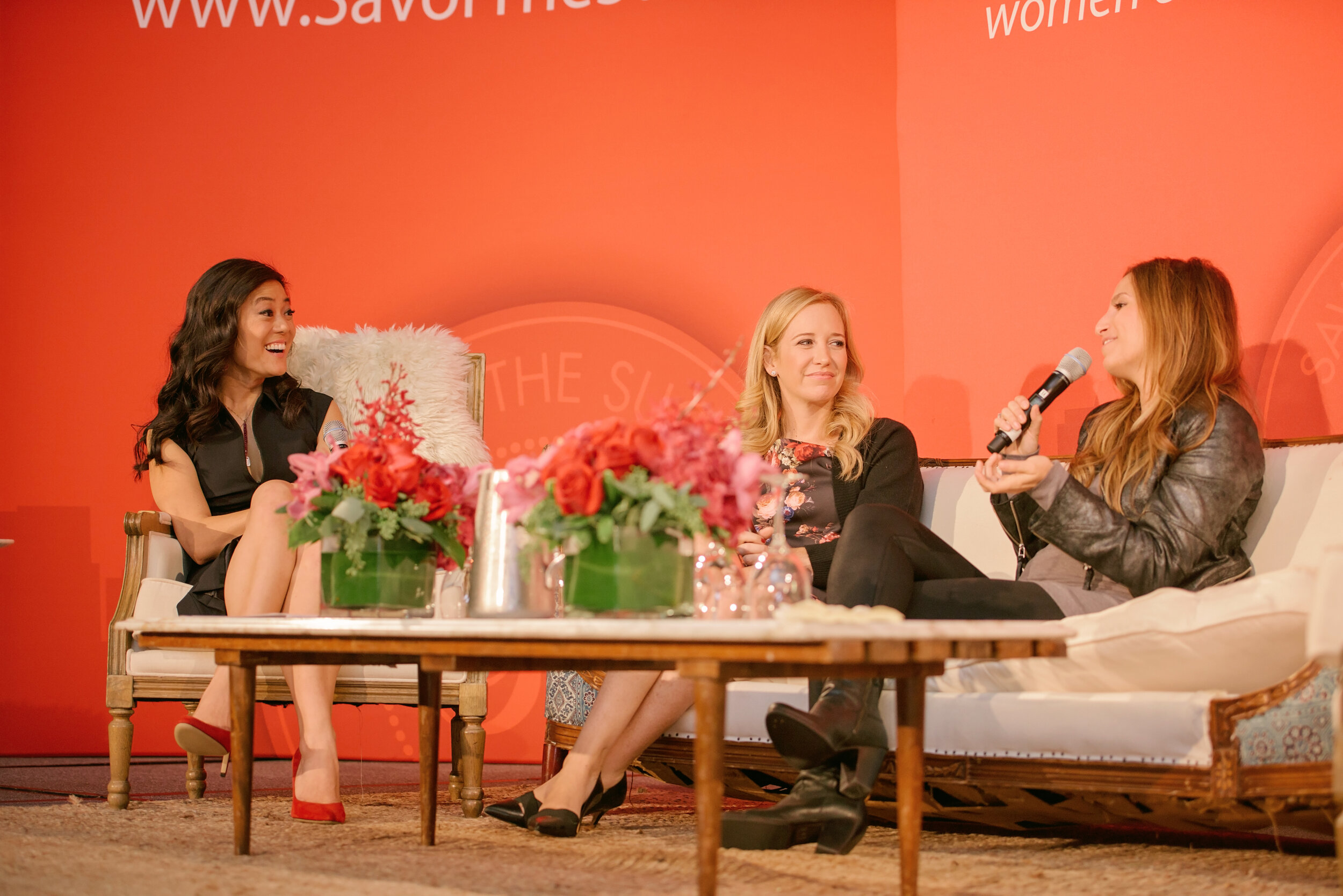 Founders of Savor Beauty, Gilt, Baked by Melissa on entrepreneur panel