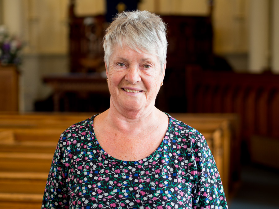 Jean Swindlehurst, Flower Secretary and Elder