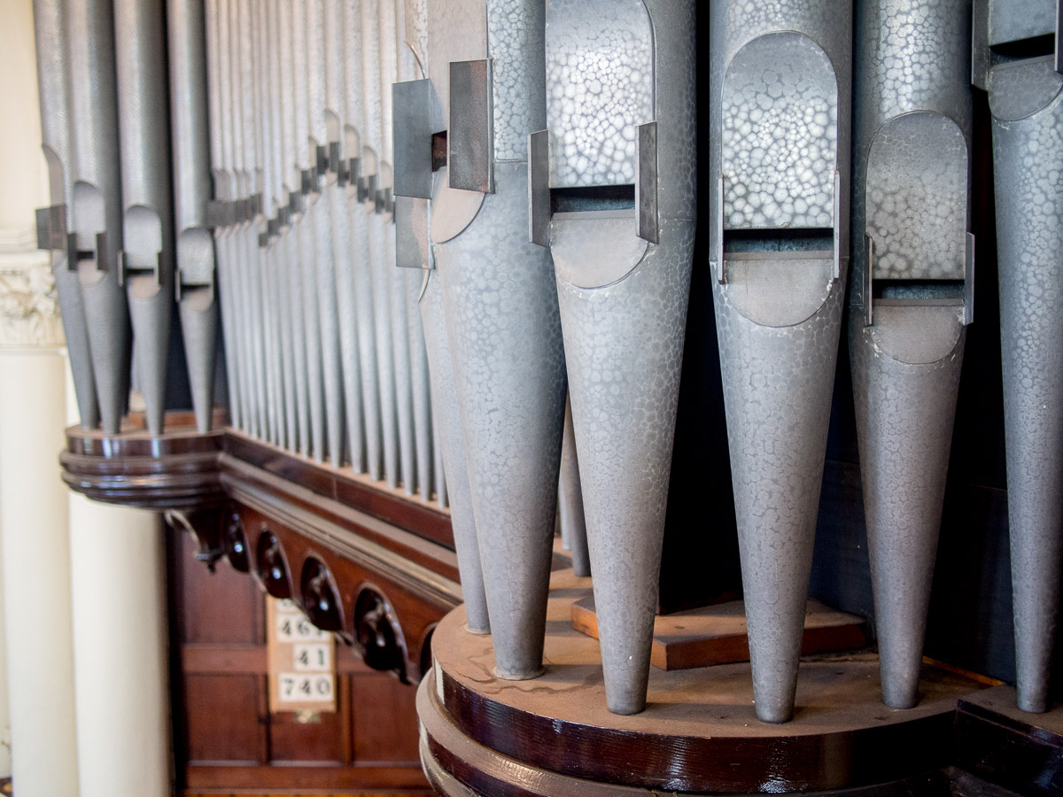 The magnificent organ, still played every week