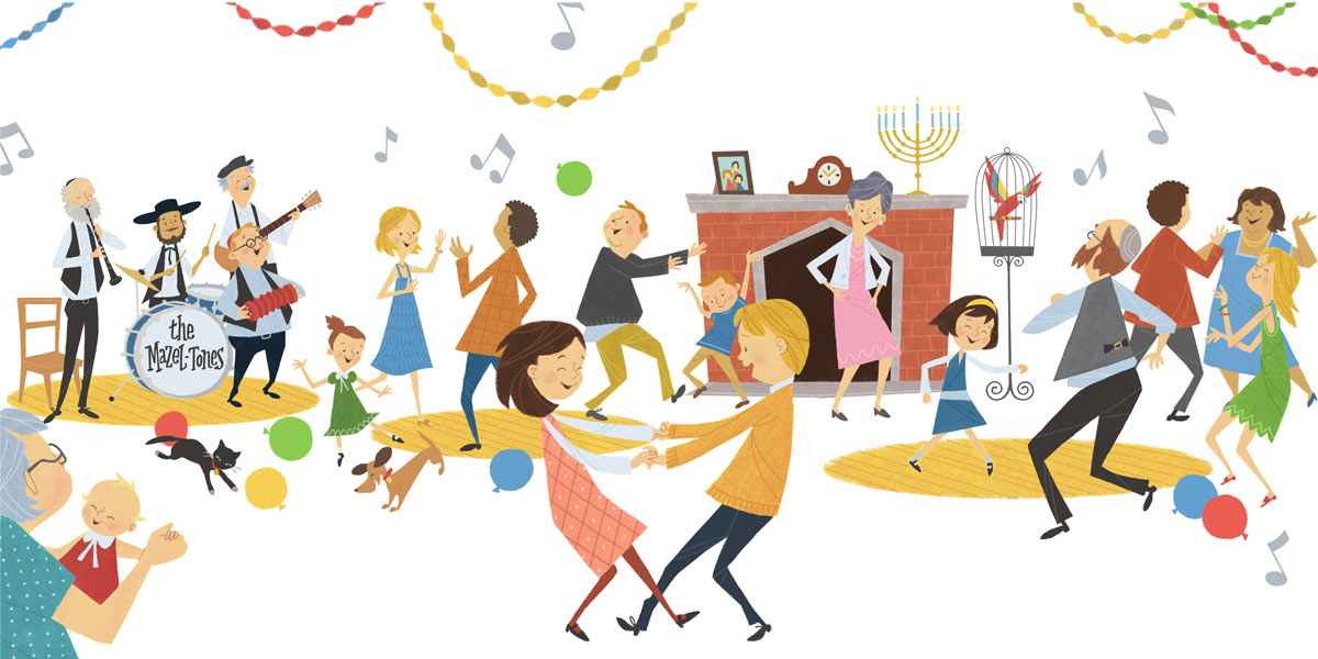 The Hanukkah Hop! Publisher: Simon & Schuster (2011)