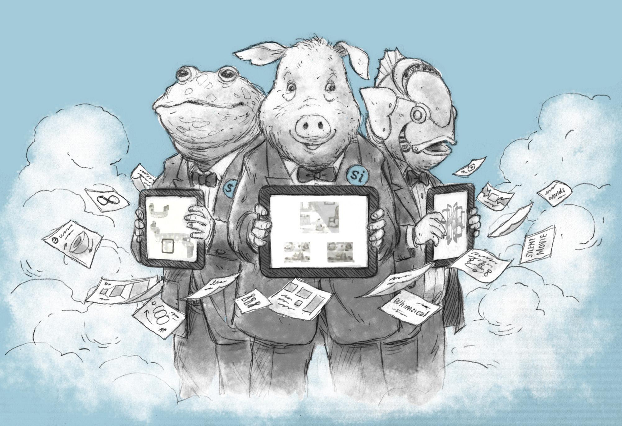 Concept sketch / App proposal   Agency: Smashing Ideas (2012)