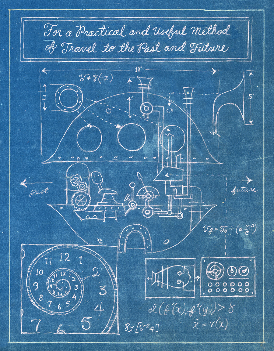 Time machine schematic / The Story Of Belle & Wissell Client: Belle & Wissell (2008)