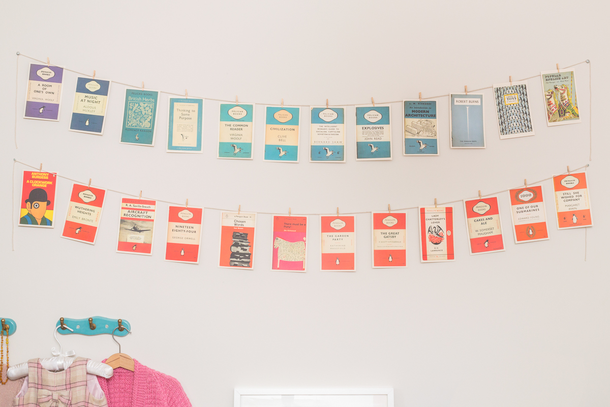 Toddler's Room | Postcards from Penguin Wall Display