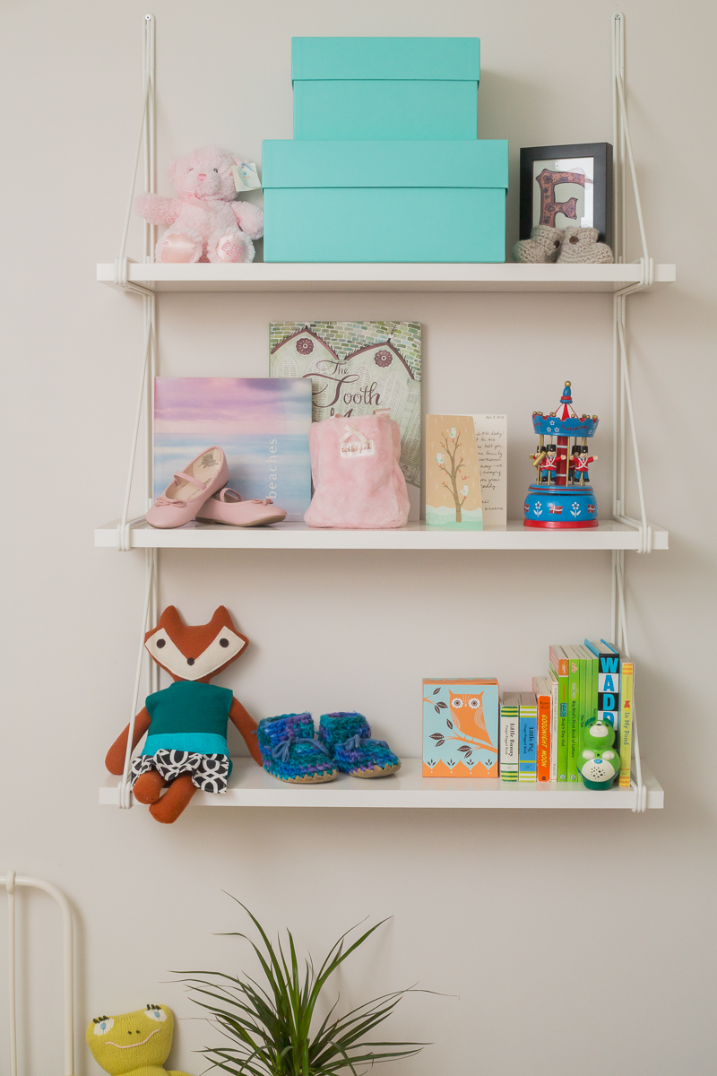 Toddler's Room | Shelving