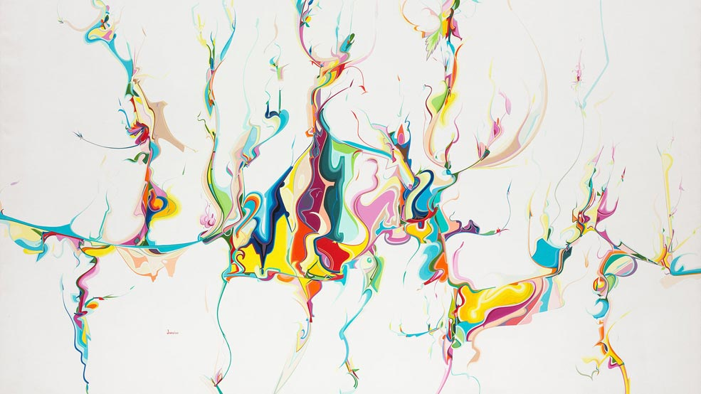 Alex Janvier, Untitled, 1986