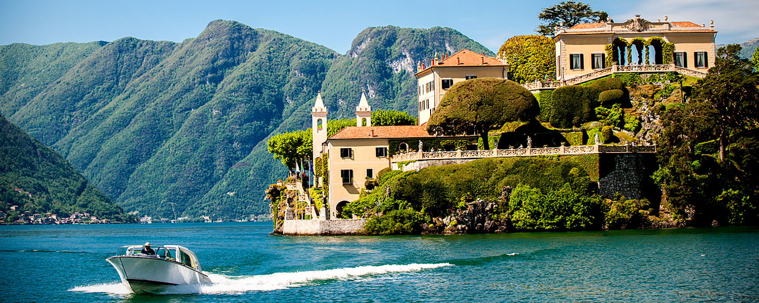 Feeling inspired yet? I give you Lake Como.