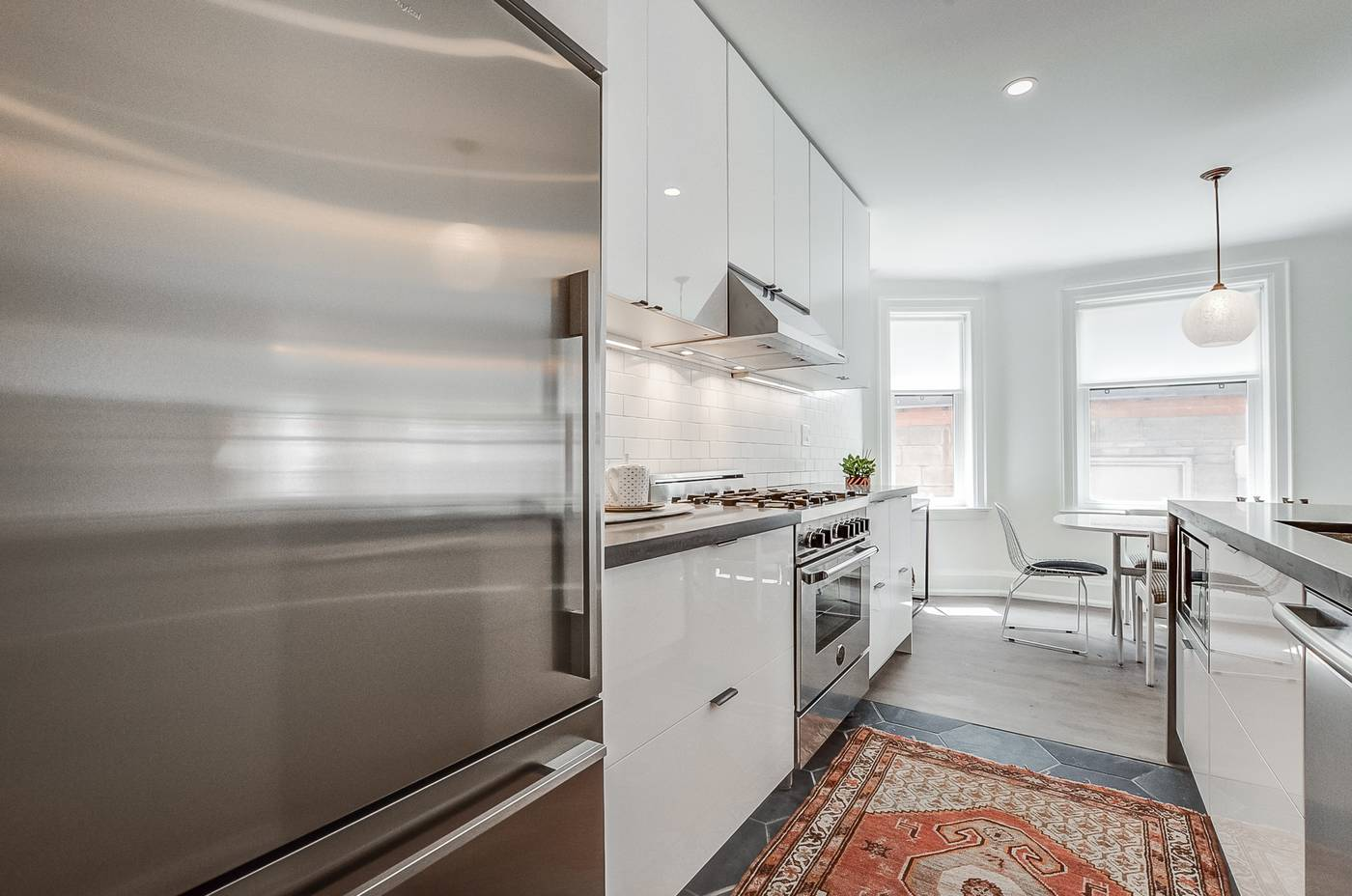 College St. Rental: Kitchen