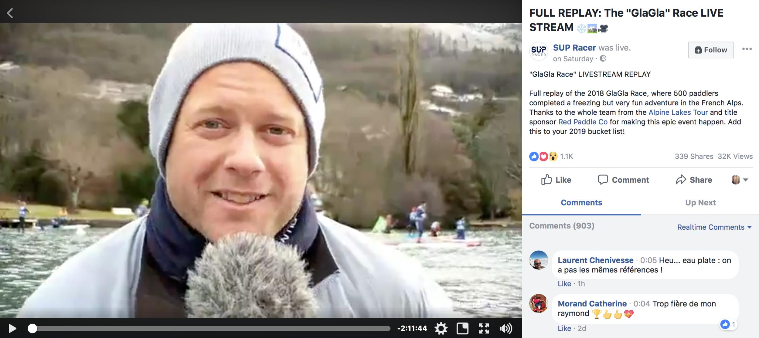 Le Replay - La plus grosse course de stand up paddle hivernale au monde... c'était samedi dernier sur le lac d'Annecy et nous étions là pour vous régaler ! Retour en images:www.facebook.com/supracerr/videos/.Merci à tout l'équipe du Alpine Lakes Tour pour le show !
