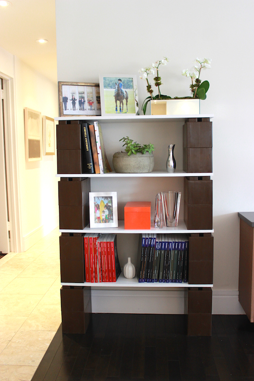 Build incredible bookshelves that can expand as you do.