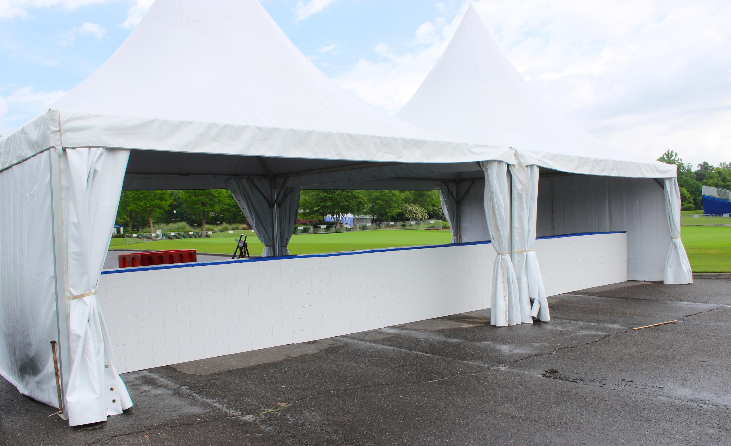 Tent Pony Walls