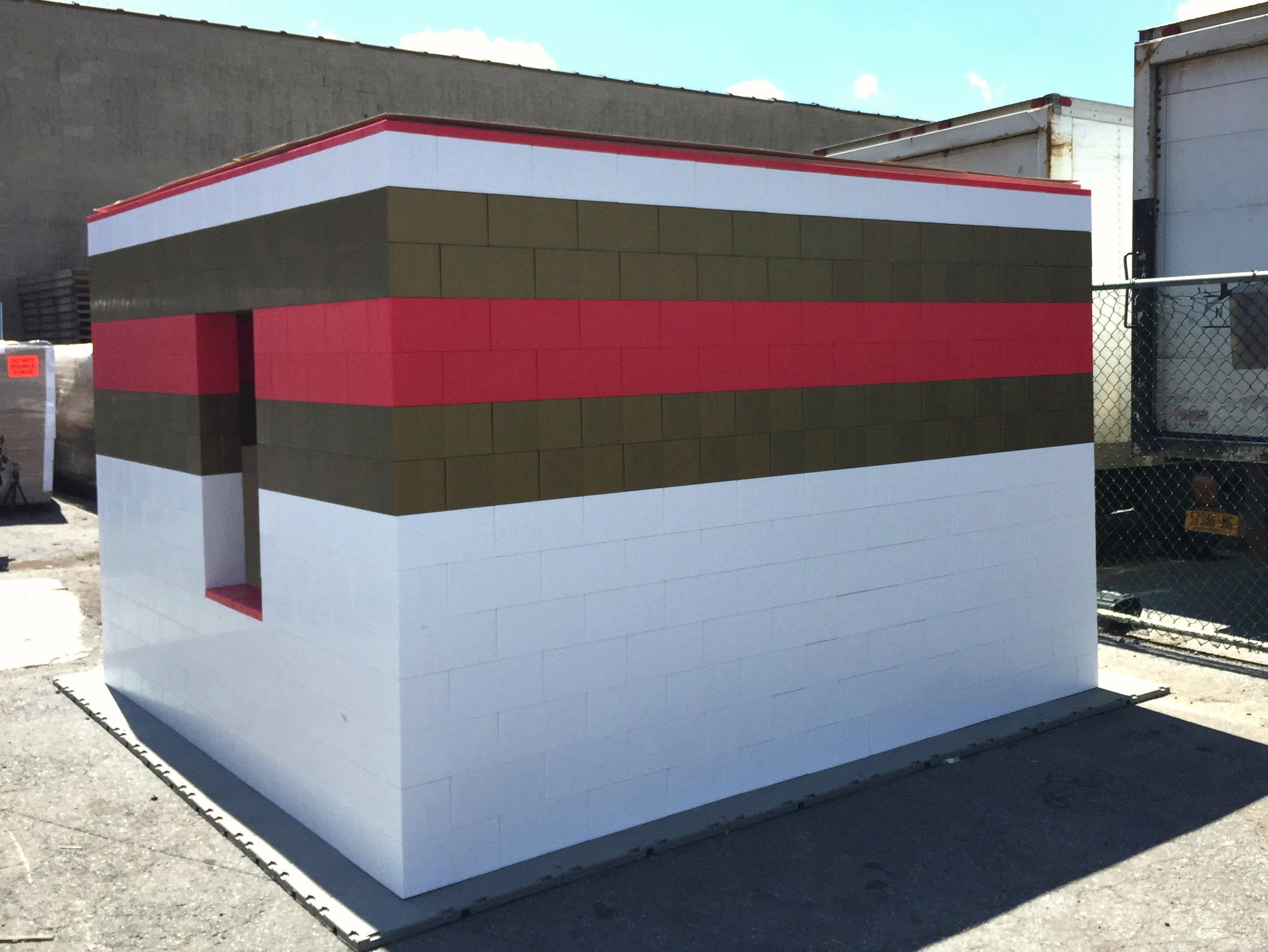 Create durable modular buildings and temporary and semi-permanent structures.