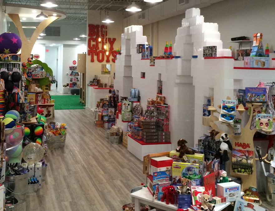 Build out retail spaces with modular display units that can be adjusted and reconfigured as needed.