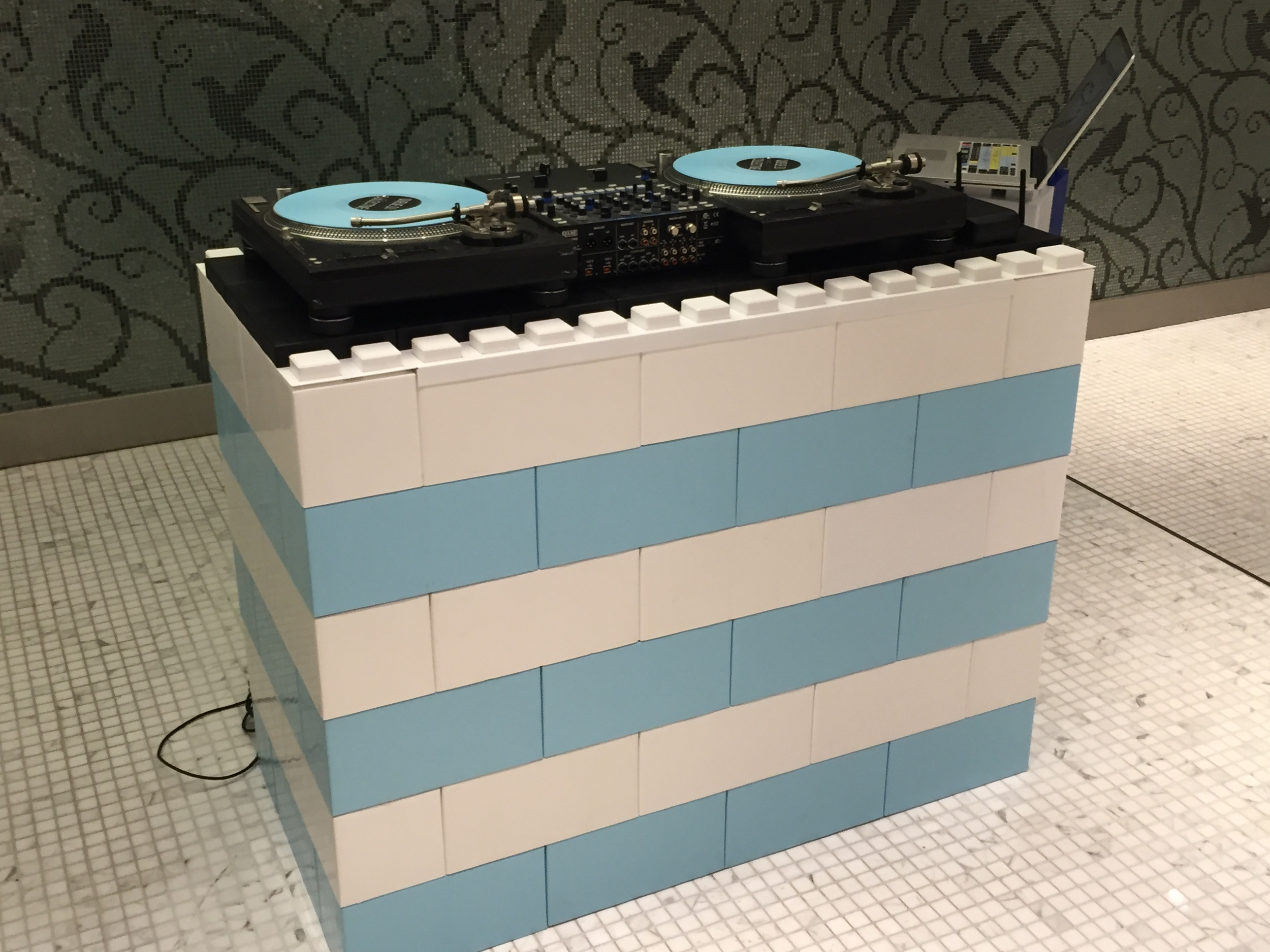 Create a unique modular DJ booth, podium, desk or bar