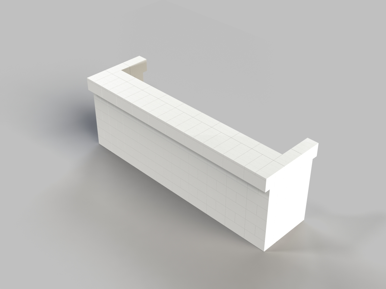 10ft, 1 Layer, Fromt Cantilever Bar